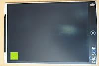 Lieferung: DIGISON DS-9500 LCD 12 Zoll Writing Tablet / Grafiktablet / Schreibtafel (Schwarz, inkl. Stift)