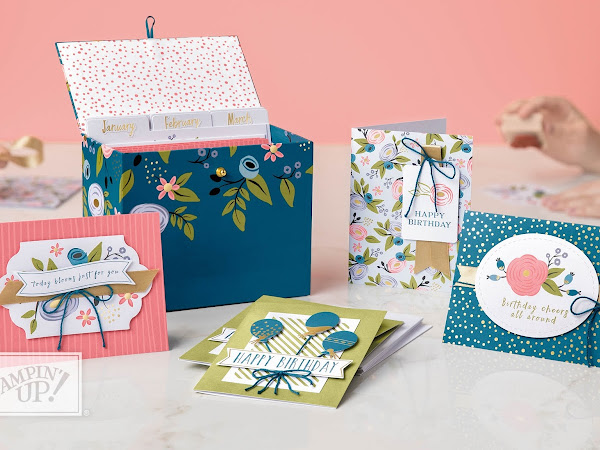 Stampin' Up! Watch It Wednesday Perennial Birthday Project Kit
