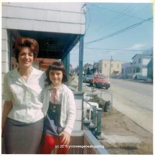 Jacqueline Belair and her daughter Marianne in 1968