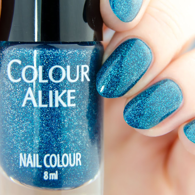"""Colour Alike """"Kind of Blue, Kind of Green"""" swatch"""