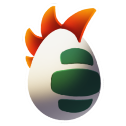 Appearance of Chicken Dragon when egg