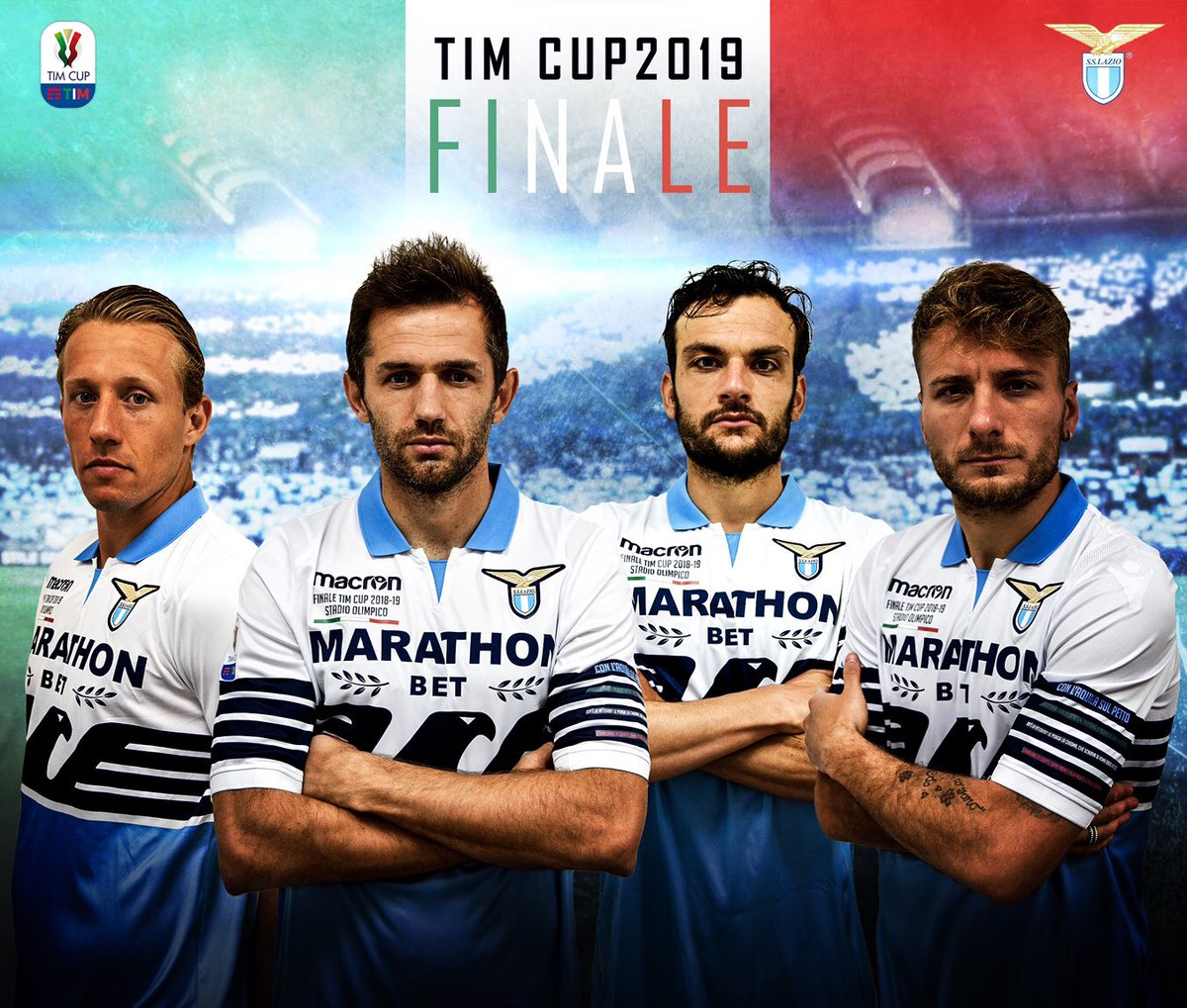 92eb50ef6 Italian club S.S. Lazio has released a special jersey for the 2018-19 Coppa  Italia final against Atalanta. It is made by Macron and based on the  regular ...