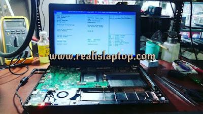 service laptop asus x453ma mati total