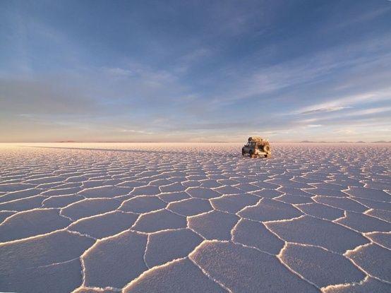 Pustynia solna w Boliwii