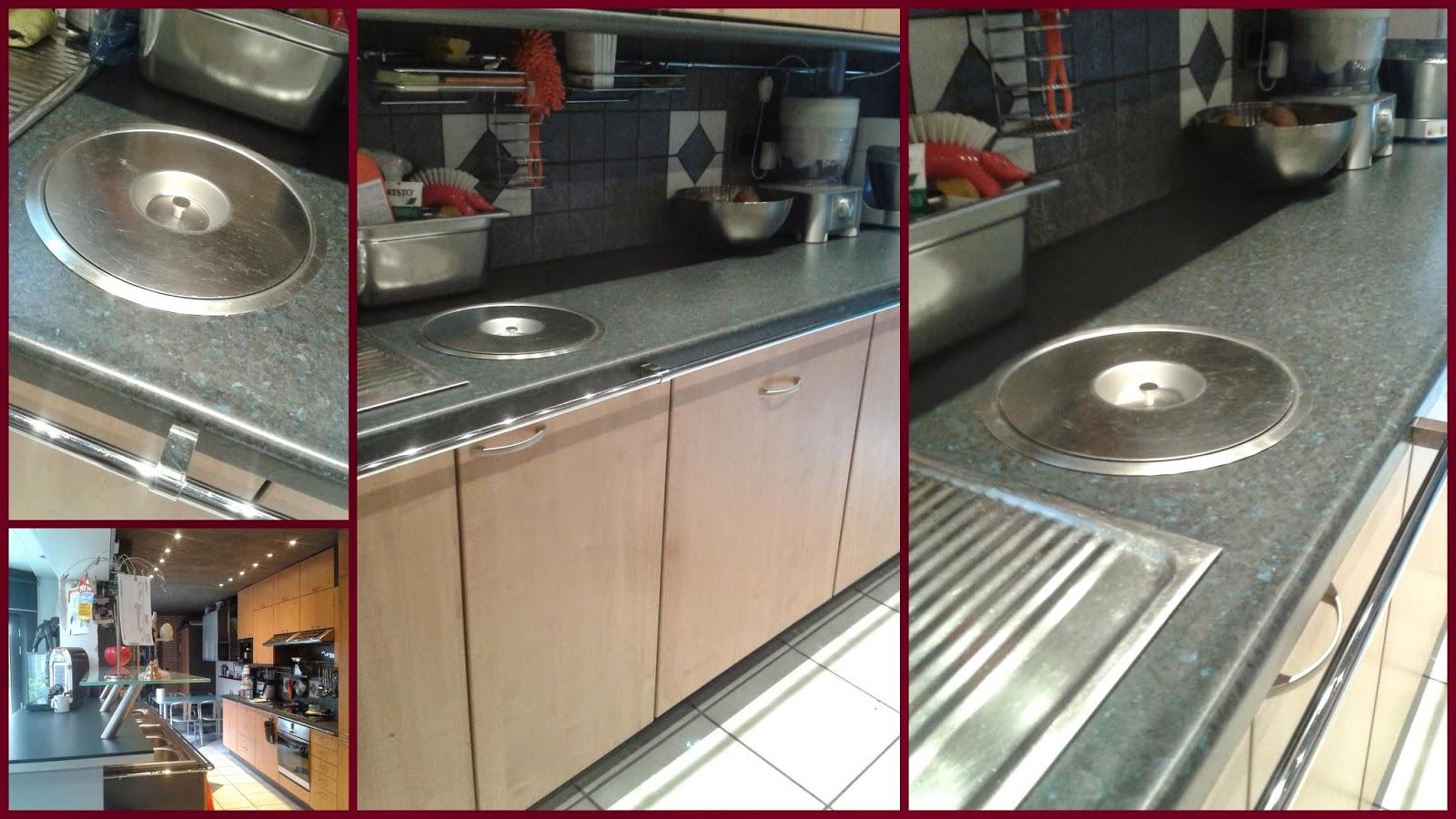 Poubelle cuisine encastrable dans plan de travail pd95 - Poubelle cuisine encastrable dans plan de travail ...