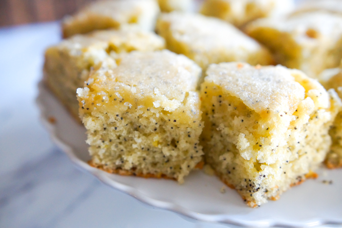 Mary Berry's Lemon Poppy Seed Traybake