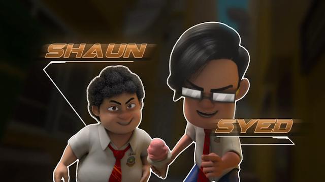 Shaun & Syed