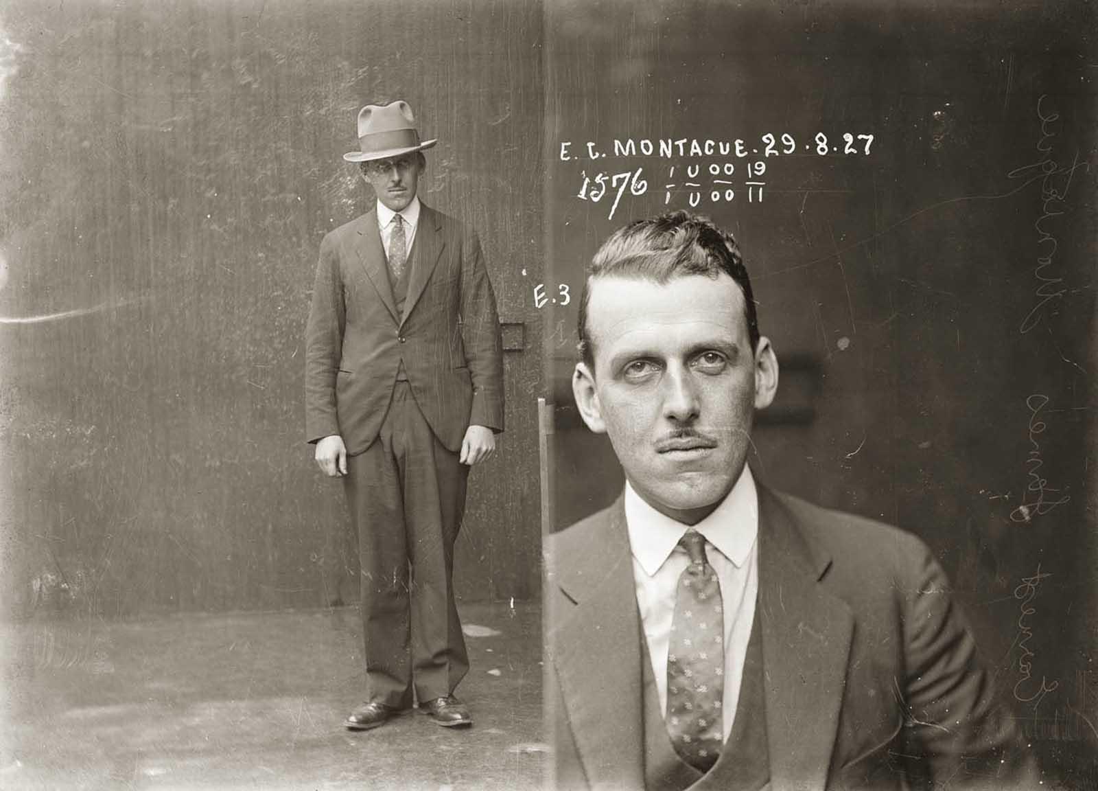 Ernest James Montague. 1927.