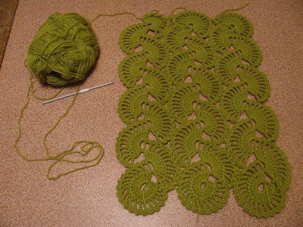 Medias Lunas en Crochet