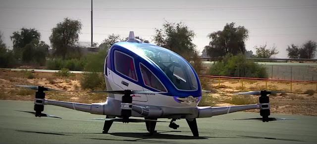 Dubai introducirá taxis voladores y Ciudad de México tendrá servicio de #Uber por helicópteros