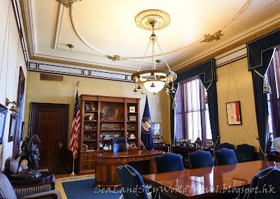 猶他州議會大厦, utah state capitol, governors office