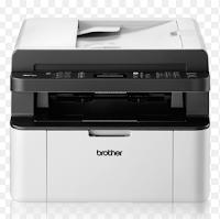 l'imprimante laser Brother MFC-1910W a un extérieur de 385 x 340 x 283 mm et s'assoit confortablement sur une table basse ou une étagère. En plus du sans fil IEEE 802.11, il existe une interface USB haute vitesse