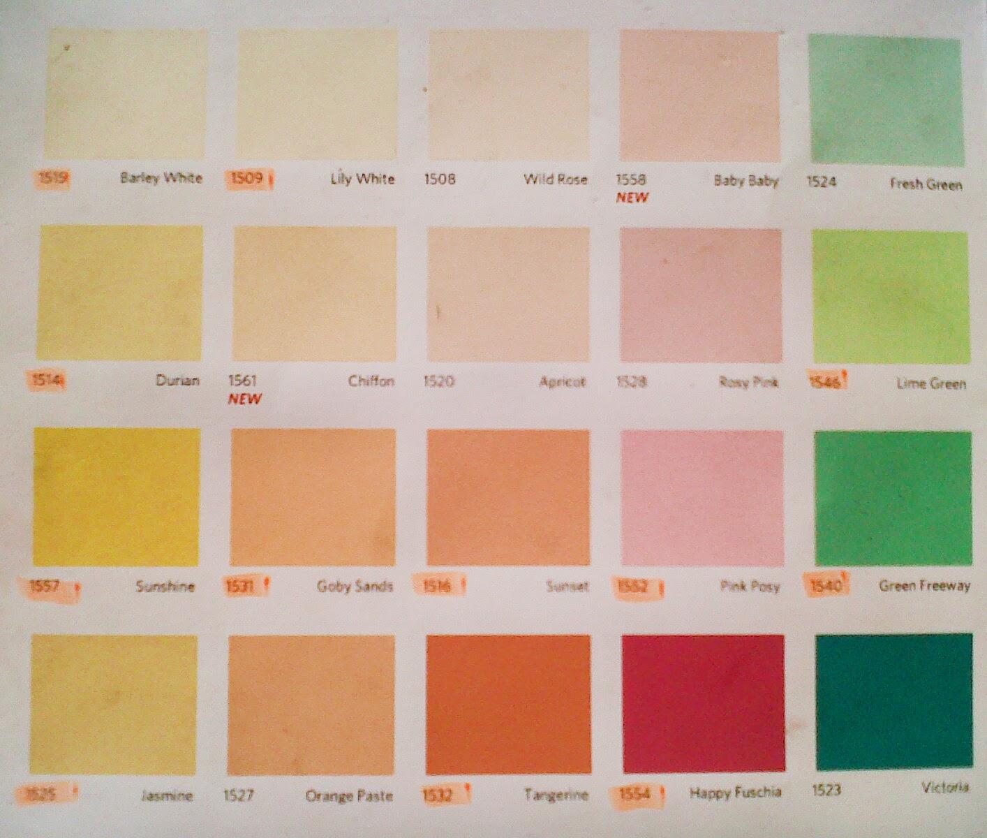 Katalog Warna Cat Tembok Vinilex – Modifikasi Sepeda Motor
