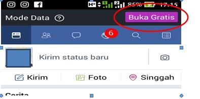 Cara Facebook Gratis Lewat Smartphone Untuk Semua Operator 3 Cara Facebook Gratis Lewat Smartphone Untuk Semua Operator