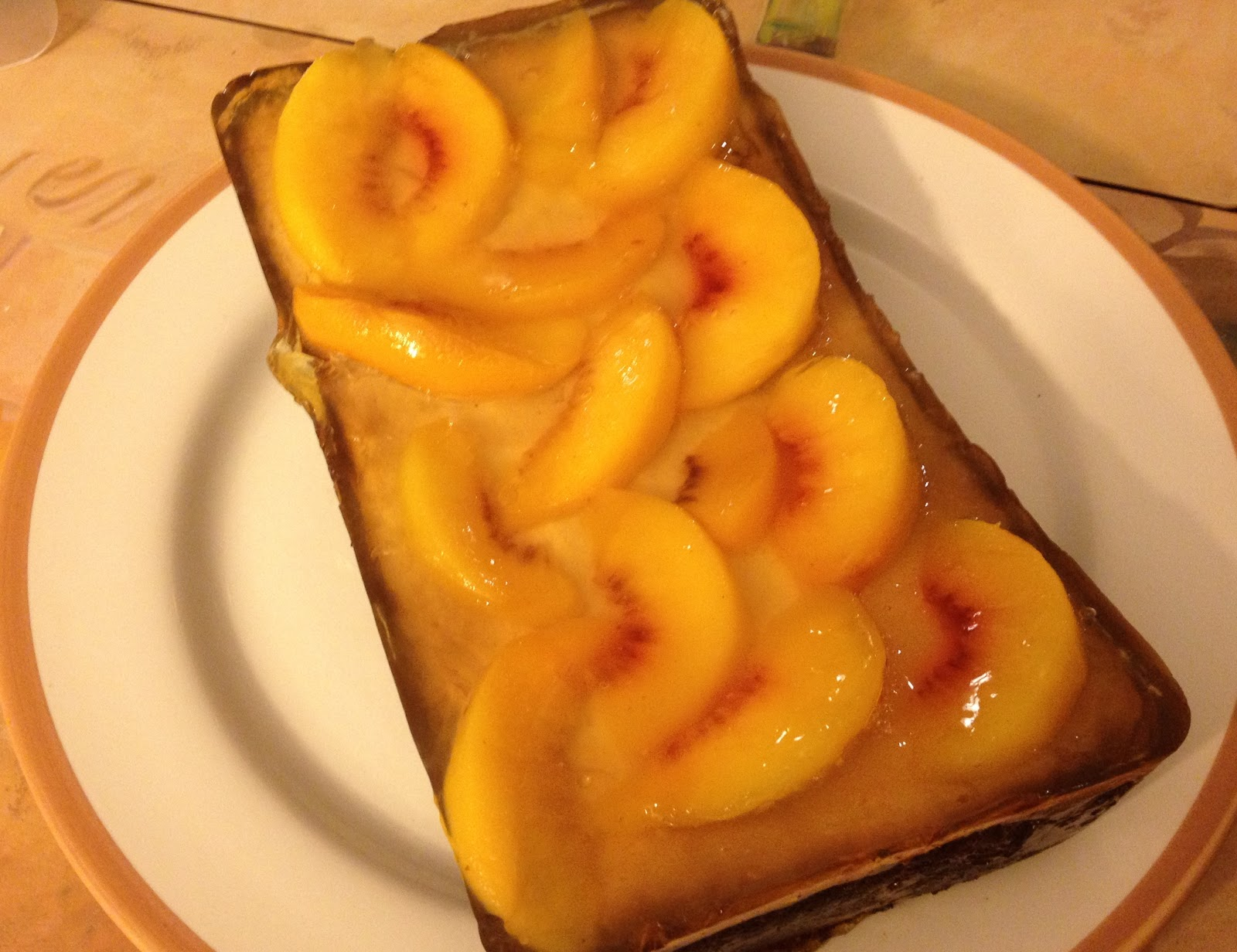 Peach Ricotta Cake
