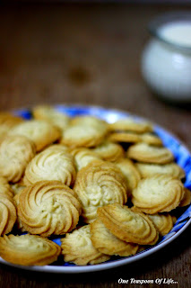 Eggless Butter Cookies