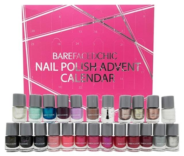 Bare Faced Chic Christmas Nail Beauty Advent Calendar