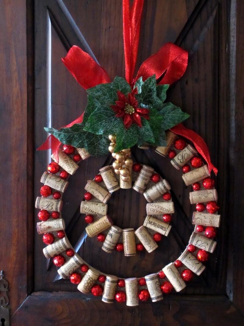 Wine Cork Christmas Crafts.Wine Cork Christmas Crafts