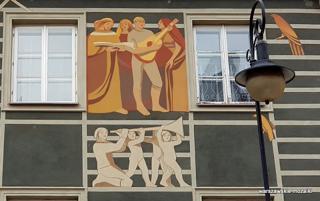 Warszawa Warsaw Nowe Miasto warszawskie kamienice Bocheński architektura