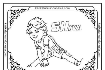 Mewarnai Gambar Kartun Shiva