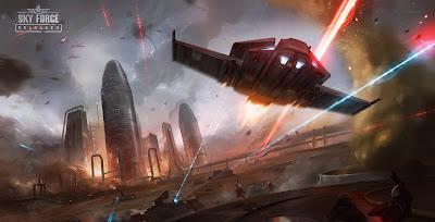 تحميل لعبة sky force reloaded للاندرويد