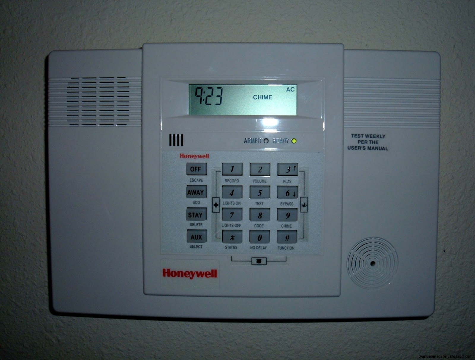 Honeywell Home Security Alarm System