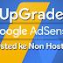 Cara Upgrade Akun Adsense Hosted ke Non Hosted