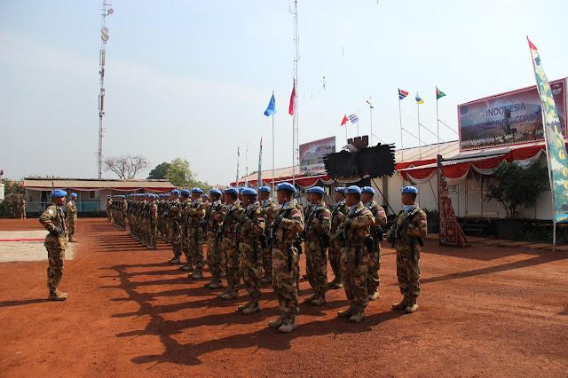Prestasi-pasukan-perdamaian-PBB-Indonesia-selesai-tugas-KONGA XX-M Pic1