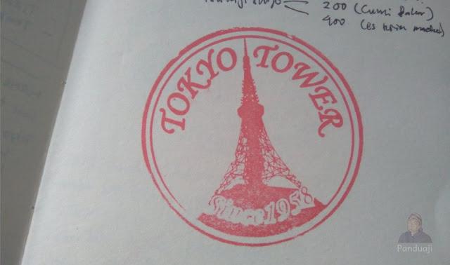 Stempel Tokyo Tower