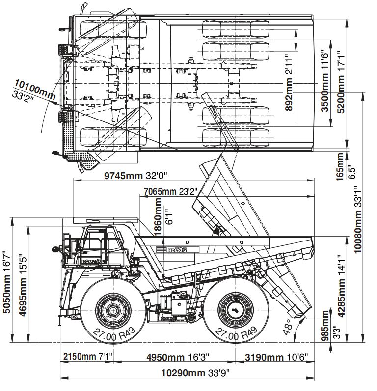 KOMATSU DUMP TRUCK 785-7 ENGINE SPECIFICATION ? Auto Car