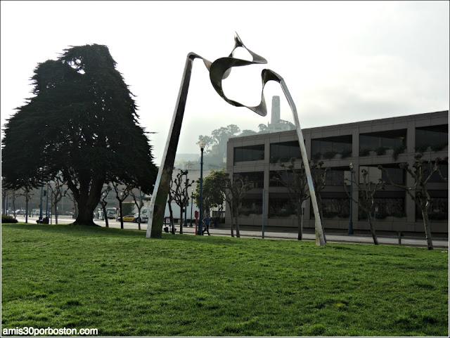 Escultura del Fisherman's Wharf de San Francisco