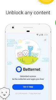 VPN Free Betternet Hotspot & Private Browser v4.3.0 Pro APK