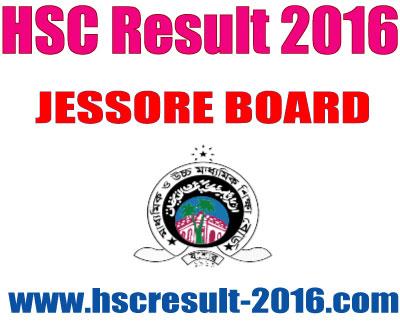 HSC Result 2016 Jessore Board