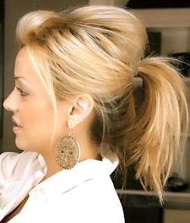 medium updo pony