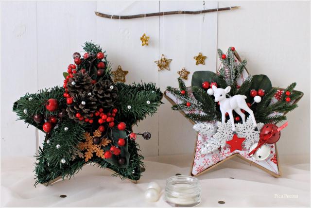 centro-mesa-navidad-estrella-carton-diy