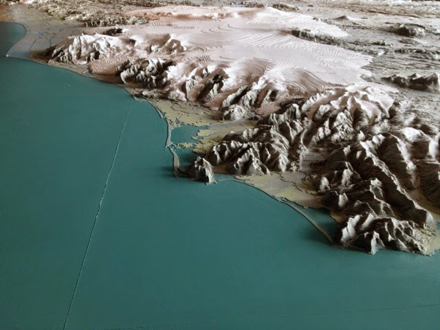 Topographic Map Of Iceland.Amy Tavern The Most Amazing Map