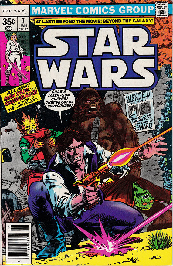 Star Wars #7 January 1978 Marvel Comics Grade VF