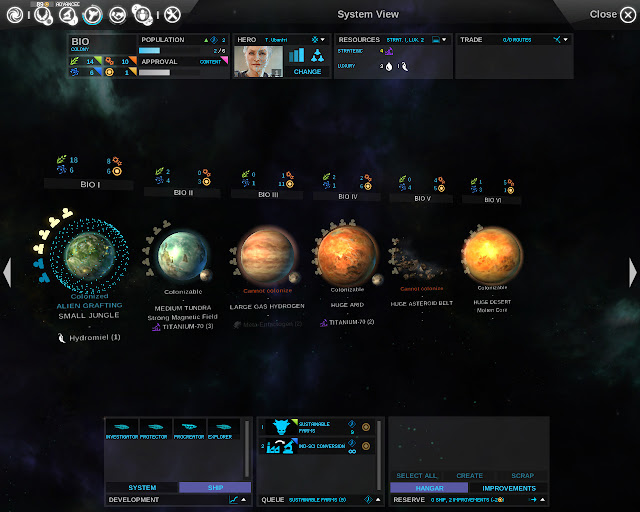 Planetary System | Endless Space Game Screenshot