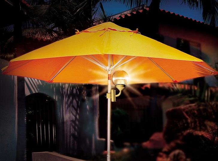 Different Choice of Patio Umbrella Lights Inspiration | Single ...