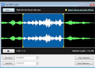 تحميل برنامج تقطيع الصوت MP3 Cutter مجانا برامج مباشر
