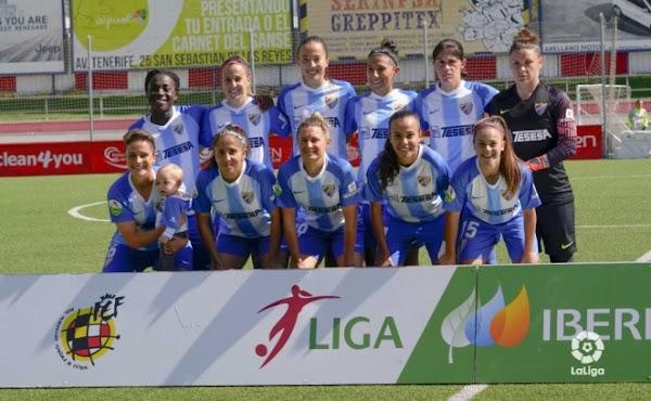 El Málaga Femenino cae en Madrid por la mínima (1-0)