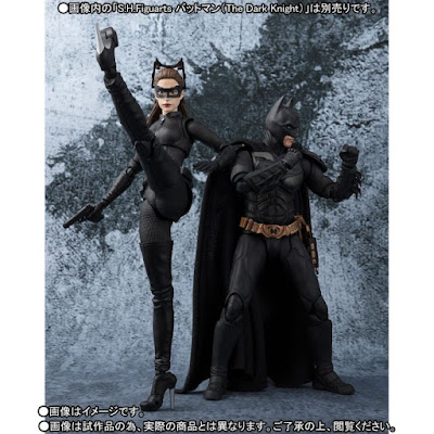 "S.H.Figuarts Catwoman de ""The Dark Knight Rises"" - Tamashii Nations"