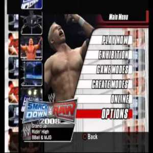Download Smackdown VS Raw 2008 Highly Compressed Game For PC