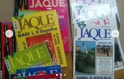 Tablón de anuncios. Números sueltos revista JAQUE