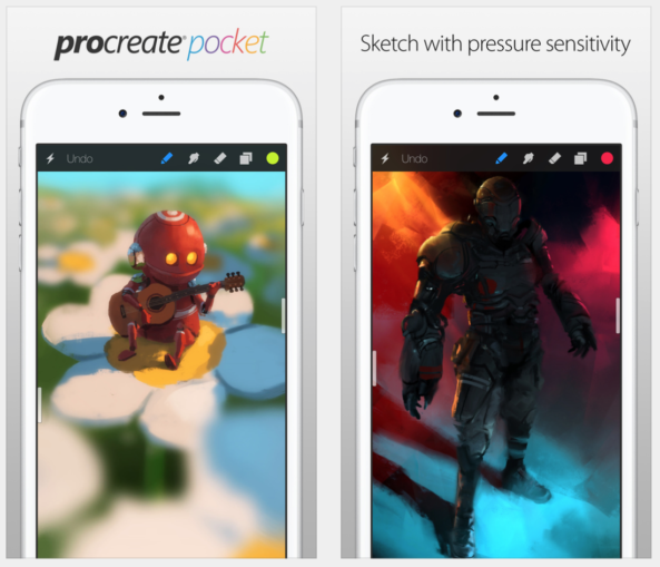 Download Procreate Pocket for iPhone for Free From the Apple Store