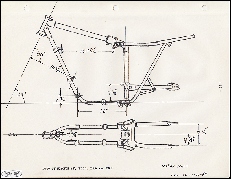 triumph tr6 1970 motorcycle wiring diagram