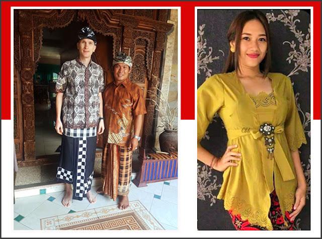 Gambar Pakaian Adat Bali Pria Dan Wanita