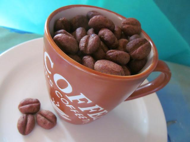 Egy bögre kávébab keksz