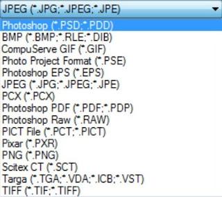 Jenis-Jenis Format File Gambar Di Photoshop Beserta Penjelasannya