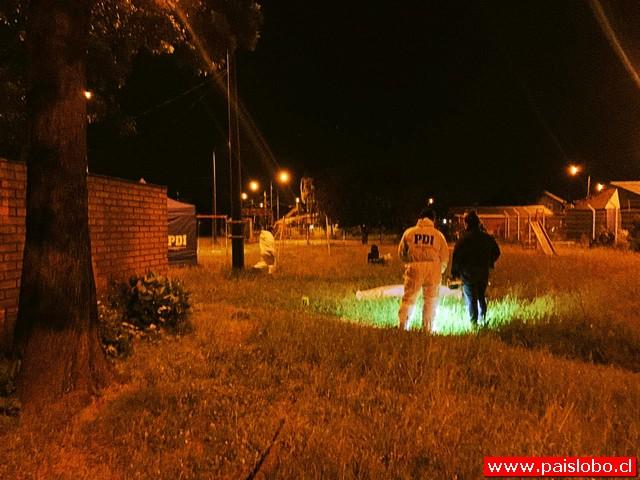 PDI investiga muerte de joven en cancha municipal de Valdivia